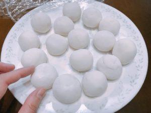 台式鹹湯圓材料