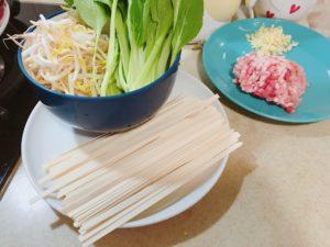 麻醬麵材料
