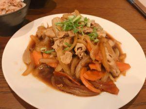 洋蔥炒琉美豬