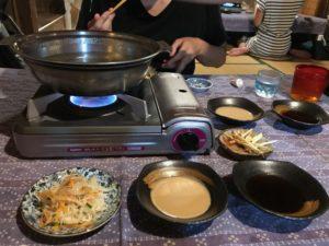 沖繩阿古豬的涮涮鍋!(あぐー豚のしゃぶしゃぶ)