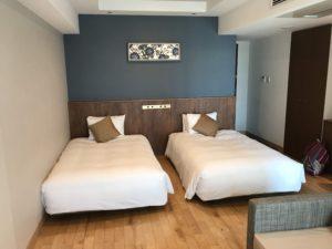 機場景雙床房