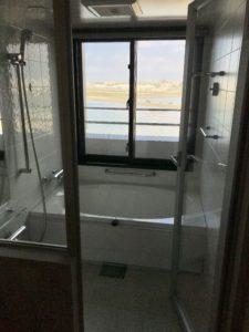 從浴室看出去的風景