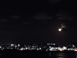 夜晚的景緻