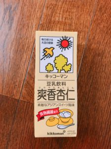 杏仁口味豆奶