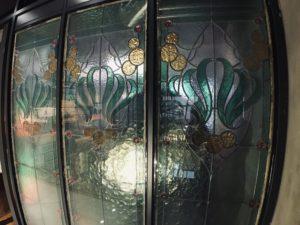 古董玻璃牆