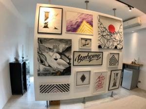 401 藝術牆二人套房
