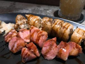 古早味大腸香腸佐日式燒肉醬 $180