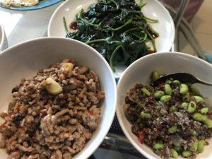 藜麥毛豆打拋肉