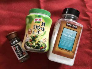 藜麥毛豆調味料