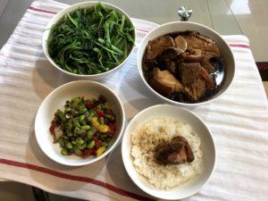 藜麥毛豆滷肉飯