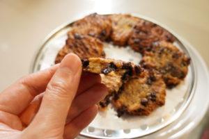 香蕉燕麥巧克力餅乾