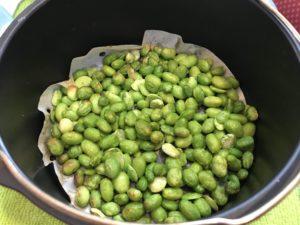 氣炸冷凍毛豆
