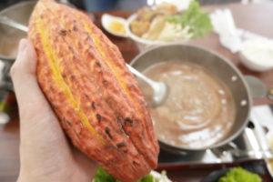 南瓜巧克力火鍋