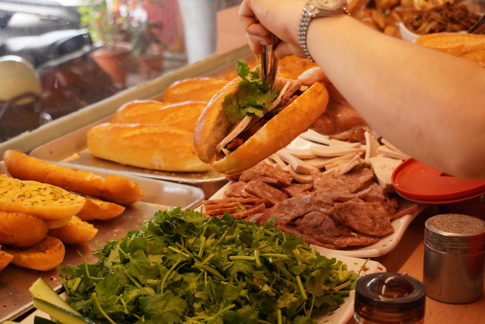 台中越南法國麵包工藝