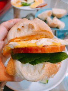 歐式麵包三明治
