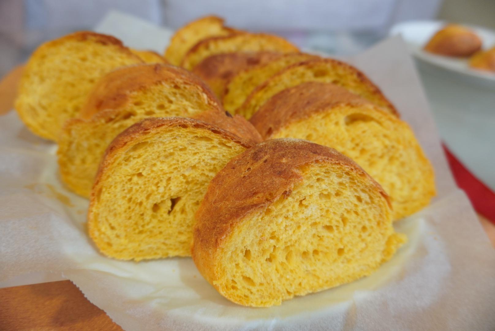 南瓜免揉歐式麵包