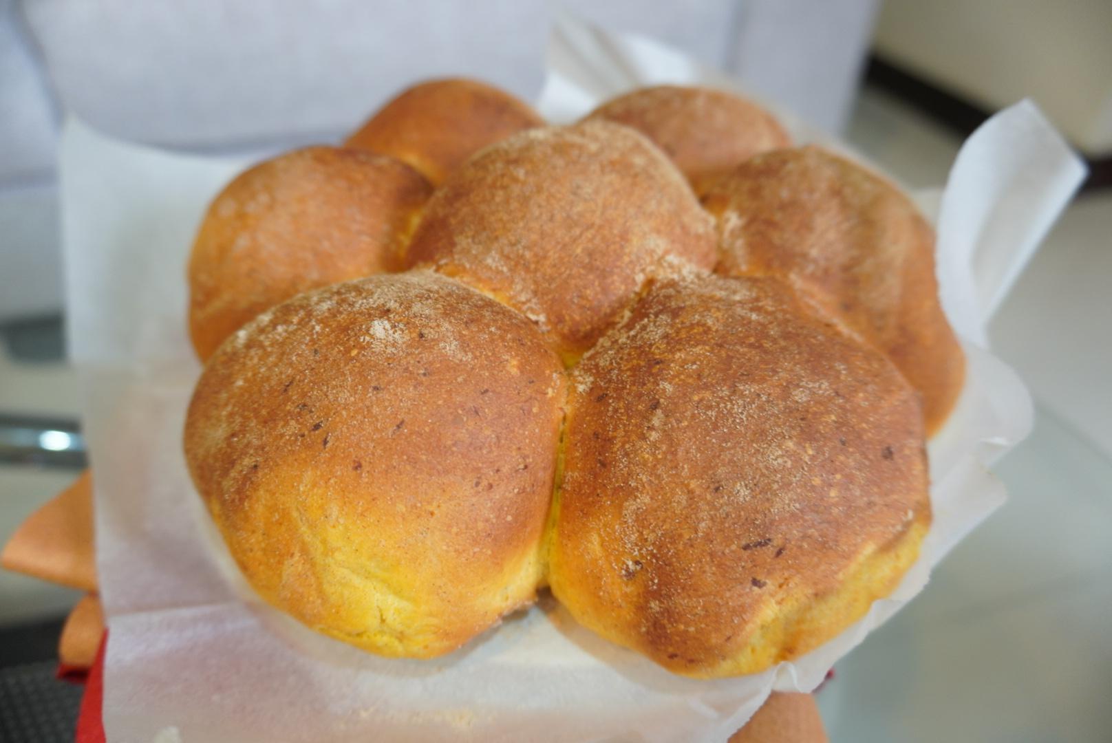 柔軟南瓜麵包