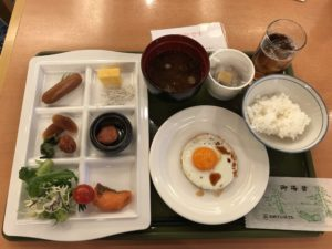 犬山飯店的早餐