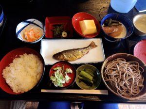香魚蕎麥麵套餐